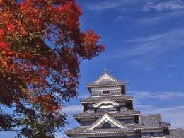 松本城10月紅葉(2)