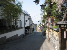 浅間温泉湯坂