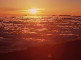 乗鞍御来光(富士見岳&大黒岳登り口付近)(1)