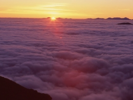 乗鞍御来光(富士見岳&大黒岳登り口付近)(2)