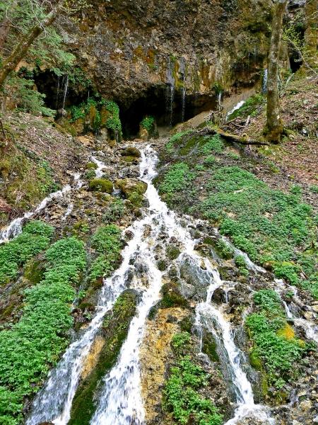 白骨温泉 竜神の滝(2)