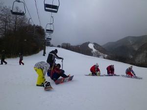 Mt.乗鞍スキー場がオープンしました~。