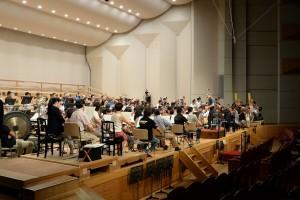 2016.8.13オーケストラB リハーサル始まる