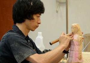 企画展「飯沼英樹 闘ウ女神タチ」 プレオープン企画 公開制作