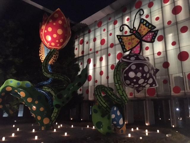 クリスマスキャンドルナイト 美術館 2016年冬
