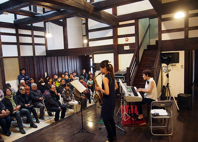 第1回蔵の夕べ コンサート@中町・蔵シック館