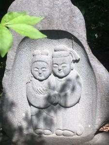 五月のお庭 松本民芸館