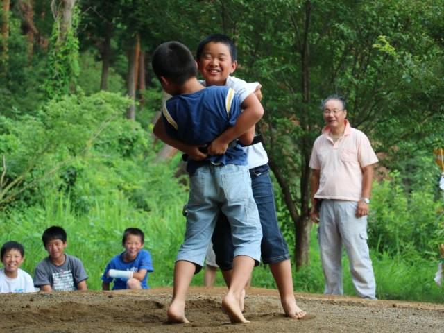 2017 8/6  子供相撲大会 応援の歓声!