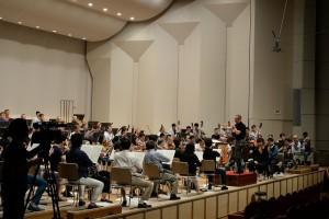 2017.8.15 オーケストラ コンサートAプログラム リハーサル初日