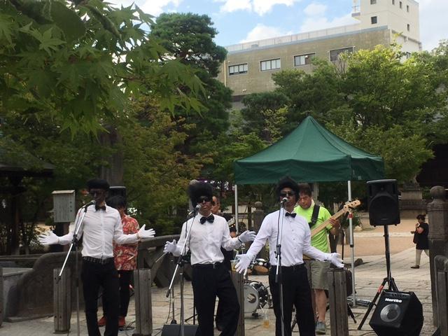 「なわて夜の音楽祭」松本の街中も帰省客観光客で賑っています♪