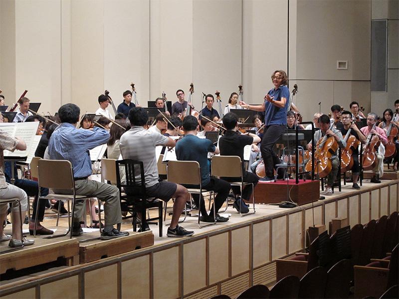 2017/08/22 オーケストラコンサートBプログラム リハーサル初日