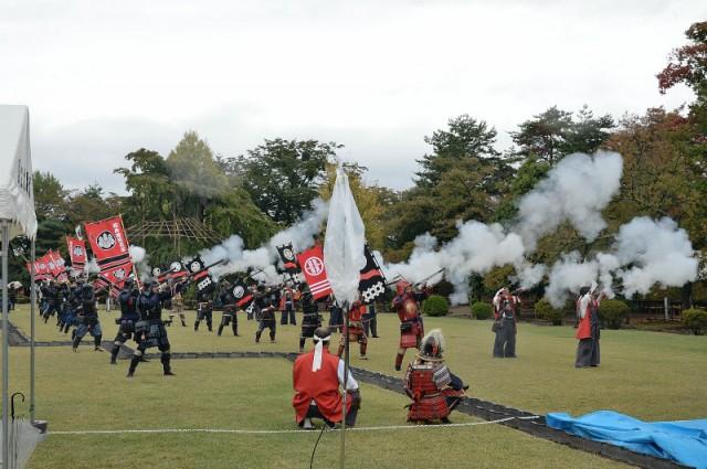 第29回 国宝松本城「古式砲術演武」