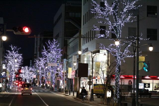 ☆冬の灯り 大名町・千歳橋☆☆&