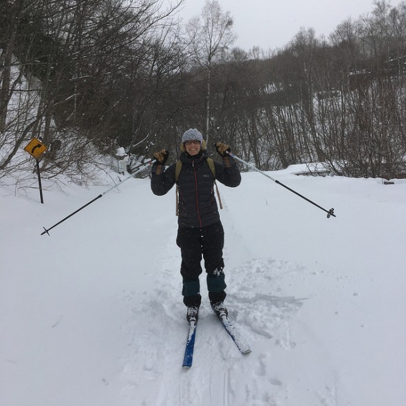 Nature Skiing in Norikura's Ichinose Area